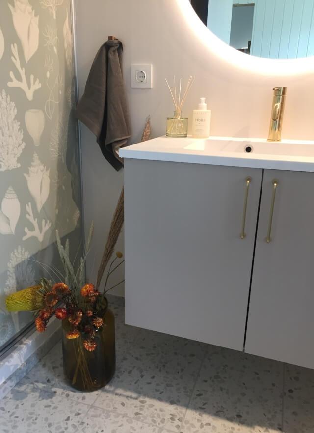 bademøbler til indretning af badeværelse