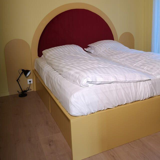 byg selv seng med gavl