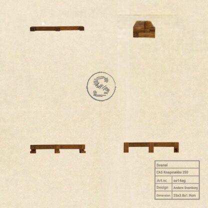 cas knagerække 250 møbel plakat 640x640