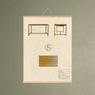 cas sofabord møbel plakat svanel