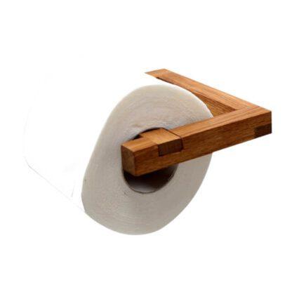håndlavet snedker toiletrulleholder svanel