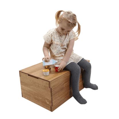 opbevaringskasser træ til børn