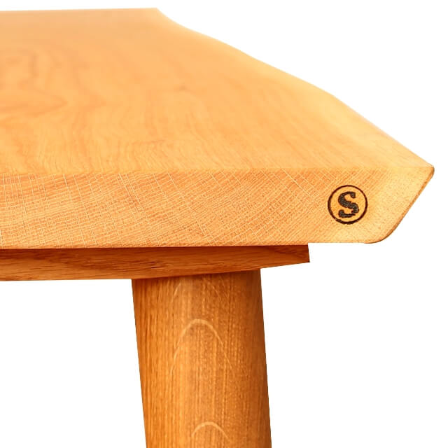 plankebord i egetræ